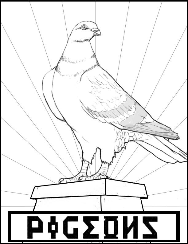 Pigeon propaganda #imaginED